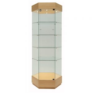 FFrameless Display Cabinet