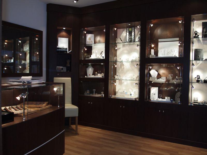 Bespoke Jewellery Cabinets