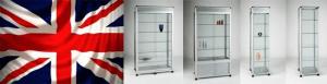 Aluminium Display Cabinets