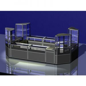 Quality Aluminium Retail Counters