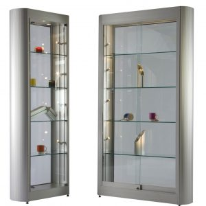 ICON Curved Aluminium Cabinets