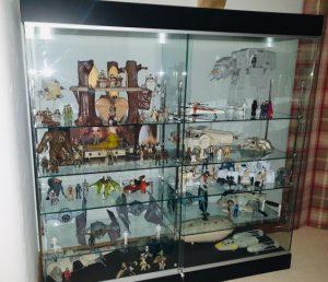 star wars collectors cabinet