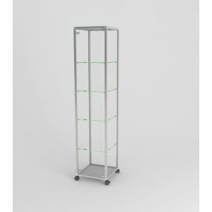 Aluminium Display Cabinets (Edge Range)