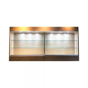 golf club trophy wall cabinet