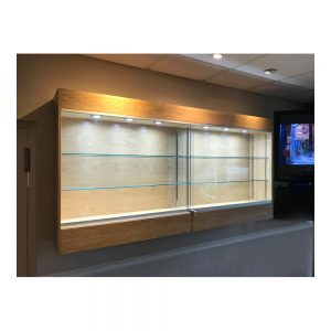 Wall Mounted Trophy Cabinets
