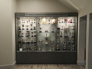 trophy cabinets for golf clubs