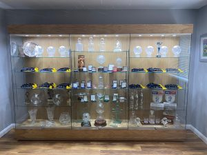 trophy cabinets for football clubs