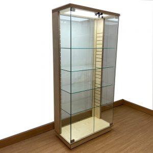 Birch Plywood Display Cabinet